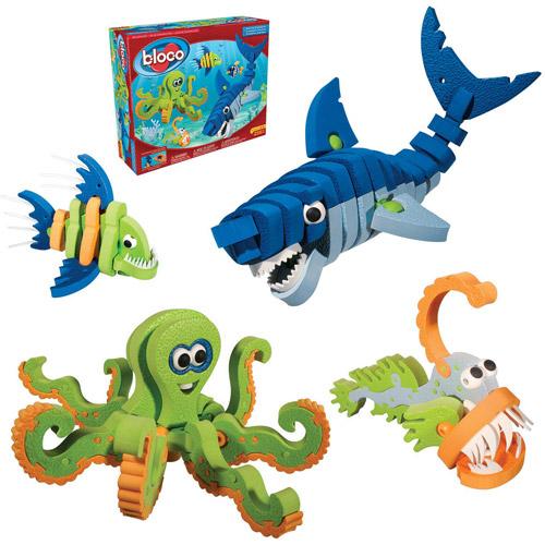 Bloco Marine Creatures Building Set