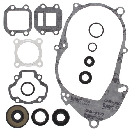 New Winderosa Gasket Kit With Oil Seals for Yamaha PW50 1990 1991 1992 1993  1994 1995 1996 1997 1998 1999 2000 2001 2002 2003 2004 2005 2006 2007 2008