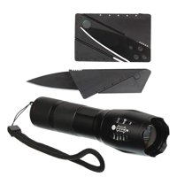 Survival Emergency Kit - Knife and Torch