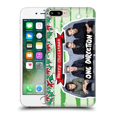 OFFICIAL ONE DIRECTION PHOTO DOODLE CHRISTMAS HARD BACK CASE FOR APPLE IPHONE