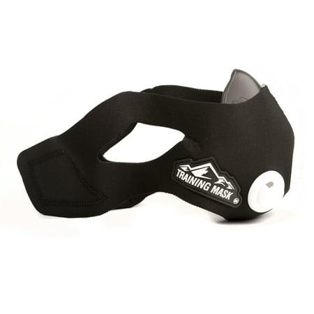 Classic Running Trainer - Training Mask 2.0 [Original Black Medium] Elevation Training Mask, Fitness Mask, Workout Mask, Running Mask, Breathing Mask, Resistance Mask, Elevation Mask, Cardio Mask, Endurance Mask For Fitness
