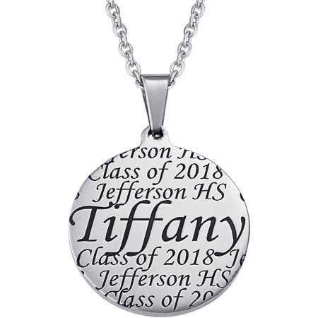 fc4c037f6e21b Personalized Girl's Engraved Graduation Pendant, 20