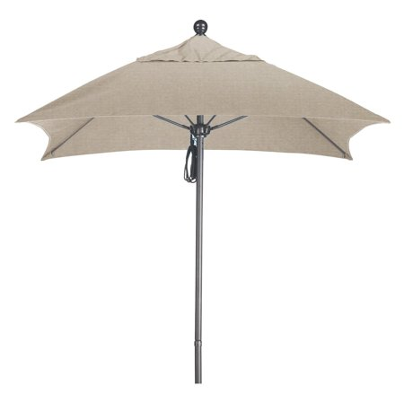 California Umbrella 6 ft. Aluminum Double Vent Patio - Double Umbrella