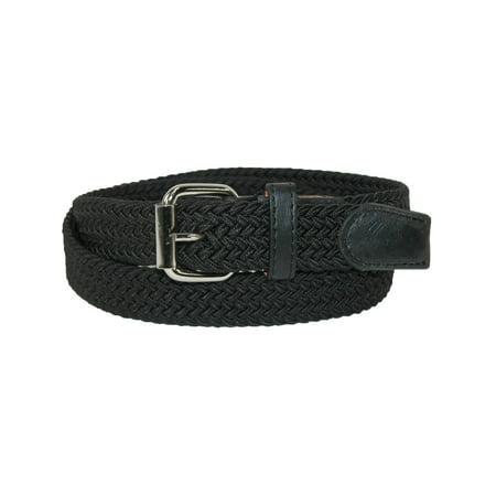 - Kid's Elastic Braided Stretch Belt