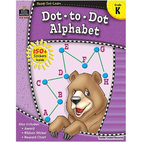 Teacher Created Resources Ready Set Learn Dot A Dot Alphabet Book