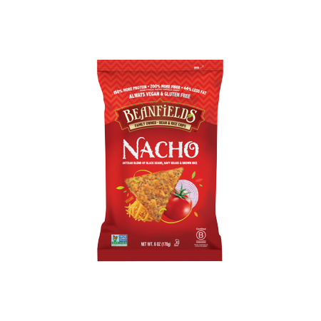 Nacho Bean & Rice Chips