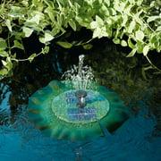 Smart Solar Aquatic Range Floating Lily Solar Fountain 24402R01