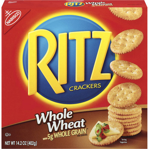 Nabisco Ritz Whole Wheat Crackers, 14.2 oz