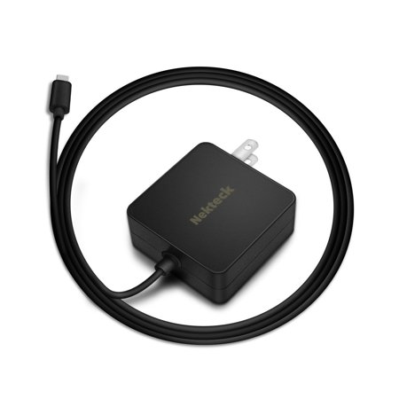 Nekteck USB-IF Certified USB Type C Wall Charger with Power delivery PD 45W Built-in 6ft USB-C Cable for Macbook 12-inch/ Pro 2016, Google Pixel 2/ Pixel/ Pixel XL Galaxy Note 8/ S8/ S8 Plus More (Macbook Pro Laptop Power Cord)
