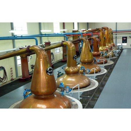 Canvas Print Glenfiddich Distillery Whiskey Whisky Scotland Stretched Canvas 10 x 14