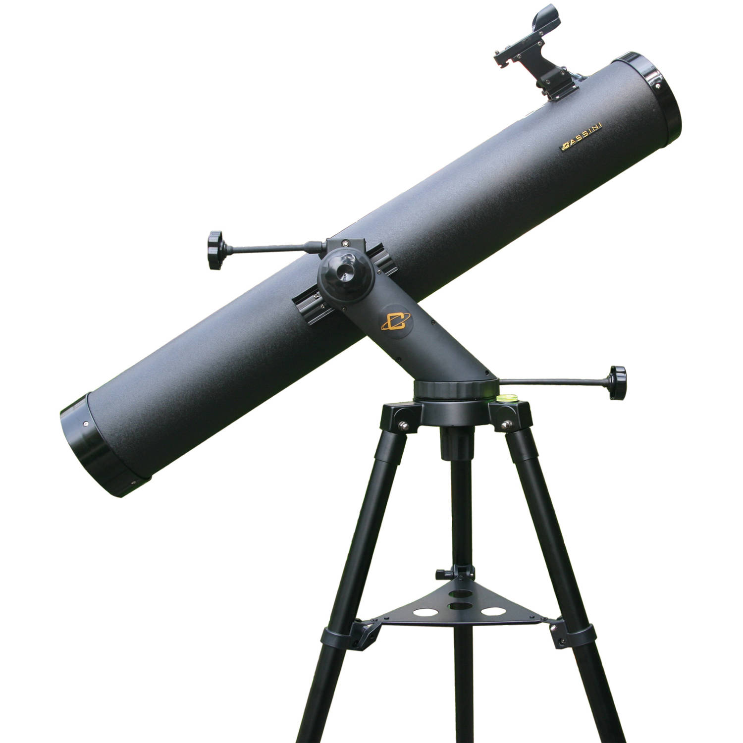 Cassini 1000mm x 120mm Tracker Series Astronomical Reflector Telescope with Tripod - Black, C-1000120TR