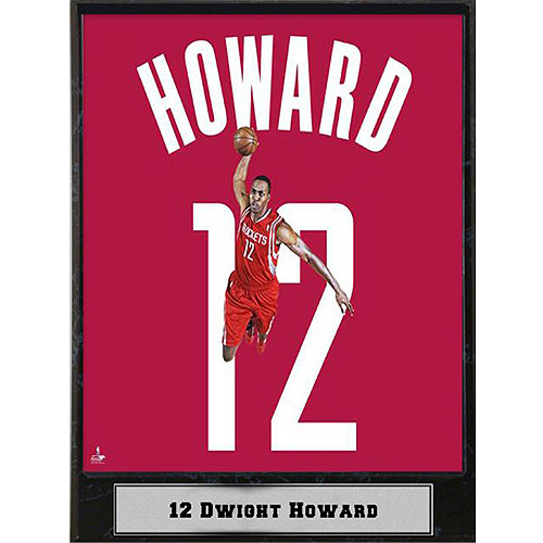 NBA Dwight Howard Photo Plaque, 9x12
