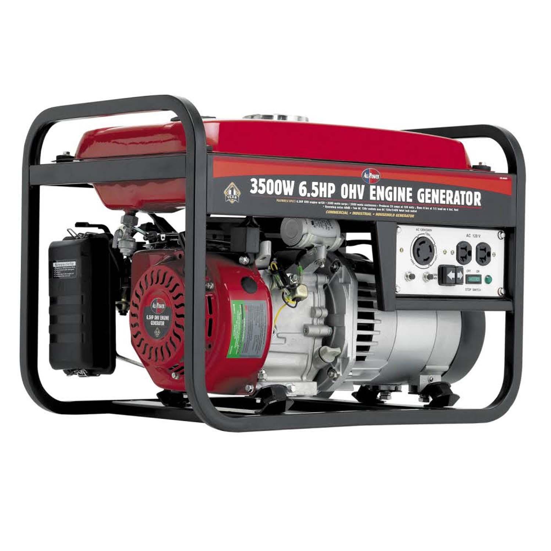 Allpower 3500W Portable Generator Deluxe Side Panel APG3001