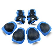 Kids Knee Pad Elbow Pads Guards Protective Gear Set for Rollerblade Roller Skates Cycling BMX Bike Skateboard Inline Skatings Scooter Riding Sports
