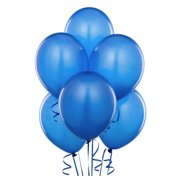 "12 Blue Latex Birthday Graduation Party 11"" Decoration Balloons"