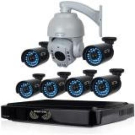 Night Owl Ahd B-a720-81-6-1ptz Video Surveillance System - Digital Video Recorder, Camera - 1 Tb Hard Drive - 15 Fps - 720 - Composite Video In - 4 - 1 - 1 - Hdmi (b-a720-81-6-1ptz)