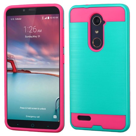 ZTE Grand X Max 2 Phone Case, ZTE Grand X Max 2 Case, by Insten Hard Dual Layer TPU Case For ZTE Grand X Max 2/Imperial Max /Kirk/Max Duo 4G/Zmax Pro case cover - image 3 of 3