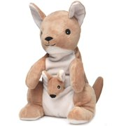 Warmies microwavable French Lavender Scented Kangaroo, Fully microwavable plush soft toy that meets all U.S. Safety standards for all ages. By Brand warmies