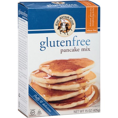 King Arthur Flour Gluten Free Pancake Mix, 15 oz, (Pack of ...