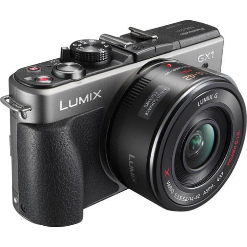 "Panasonic Lumix DMC-GX1 16MP Silver (Body Only) Digital Camera w/ 3"" LCD Display, HD Video, Level Gauge"
