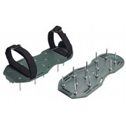 Bond 9215 Giant Spiked Shoes with Twelve Spikes - Green