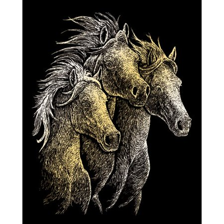 (Royal & Langnickel Horses Art Engraving)