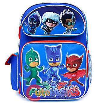 Kids PJ Masks Novelty Catboy Backpack Rucksack Childs School Book Bag