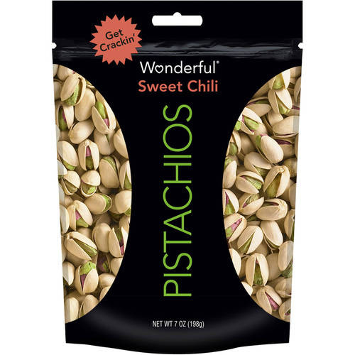 Wonderful Pistachios, Sweet Chili, 7 Oz