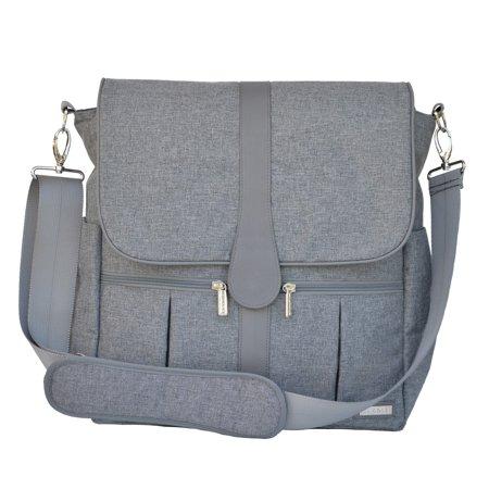 Jj Cole Backpack Diaper Bag   Gray Heather