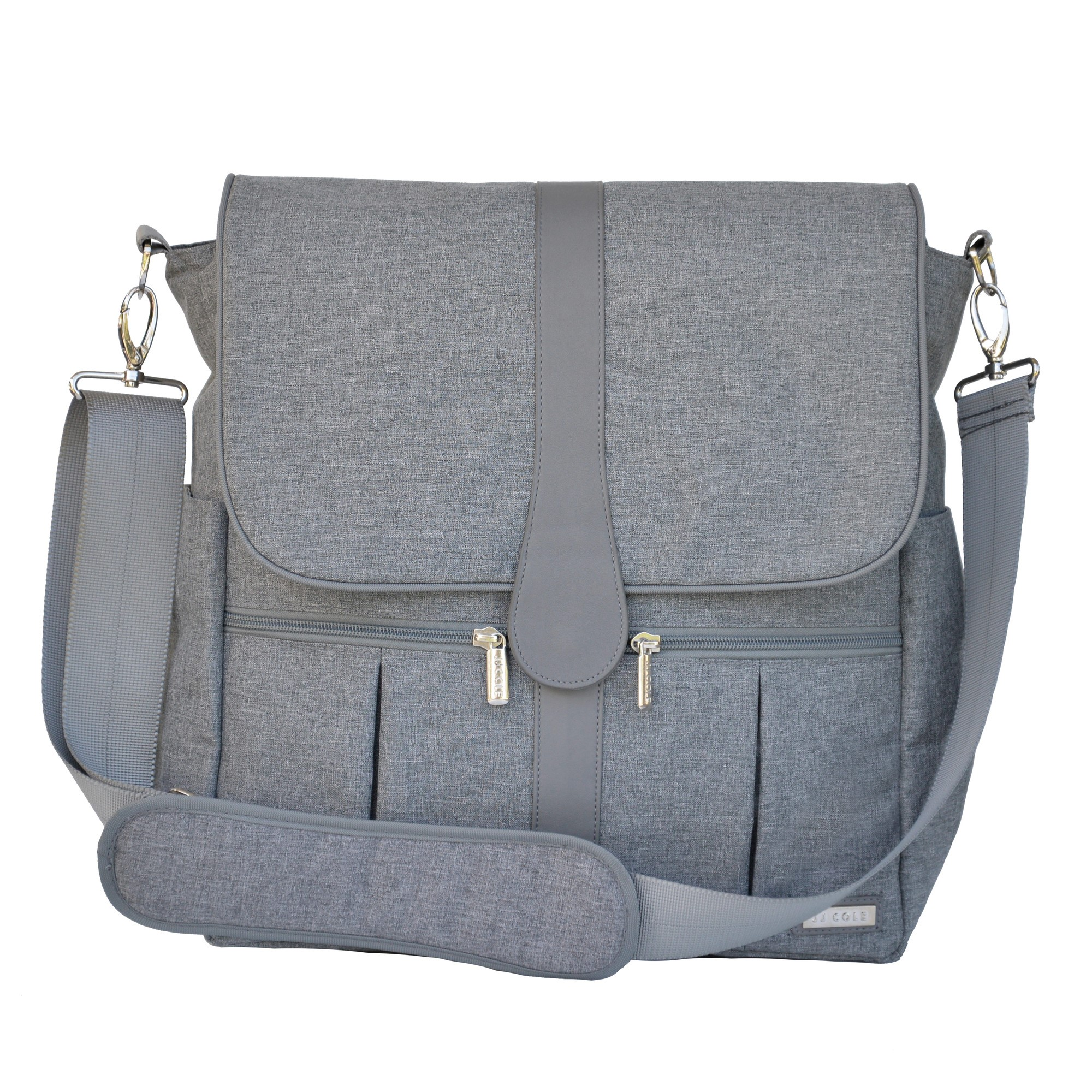 JJ COLE Backpack Diaper Bag - Gray Heather