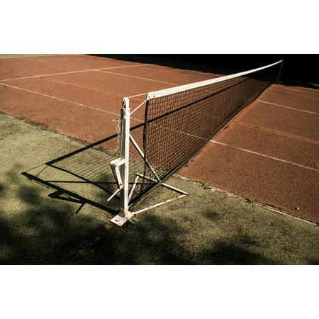 Canvas Print Tennis Court Tennis Set Court Racket Sport Net Stretched Canvas 10 x 14