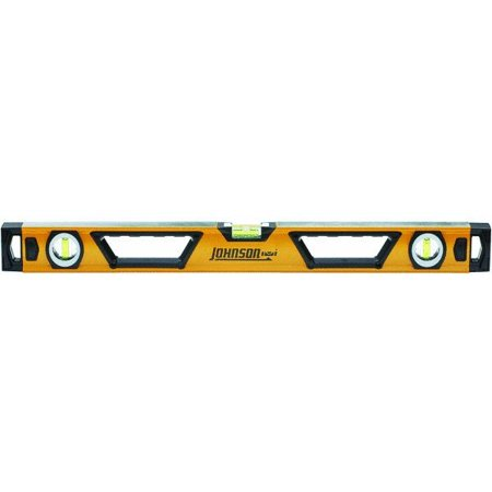 Johnson Level and Tool 1711-2400 24-Inch Professional Box Beam Level Non-Magnetic