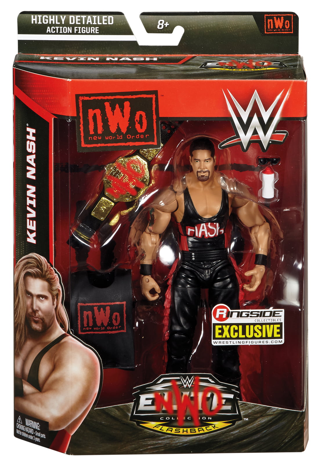 NWO Wolfpac Kevin Nash Ringside Exclusive WWE Toy Wrestling Action Figure by
