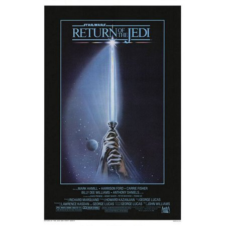 "Star Wars: Episode VI - Return Of The Jedi - Movie Poster / Print (Advance Style ""A"" - Lightsaber) (Size: 27"" x 40"")"