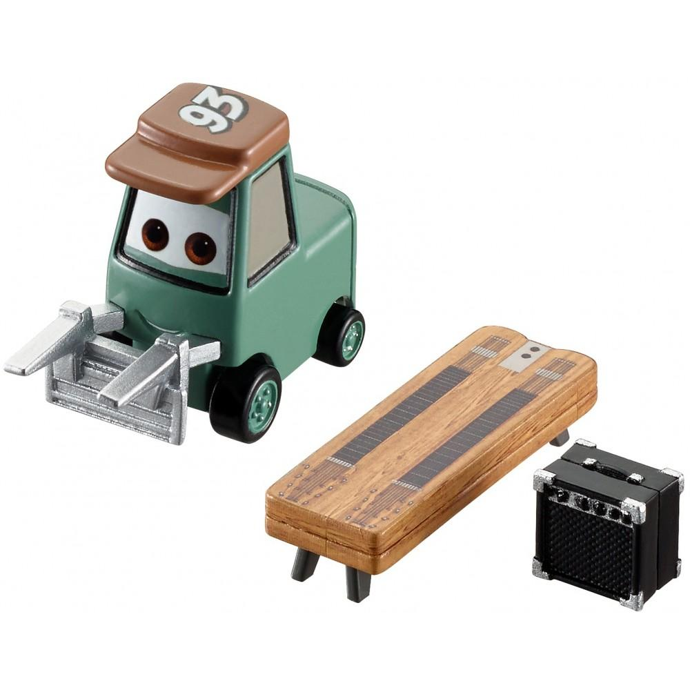 Disney Pixar Cars Pitty With Slide Guitar Character Vehicle