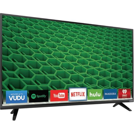 VIZIO D43-D2 43-inch LED Smart TV – 1920 x 1080 – 2,000,000:1 – (Refurbished)