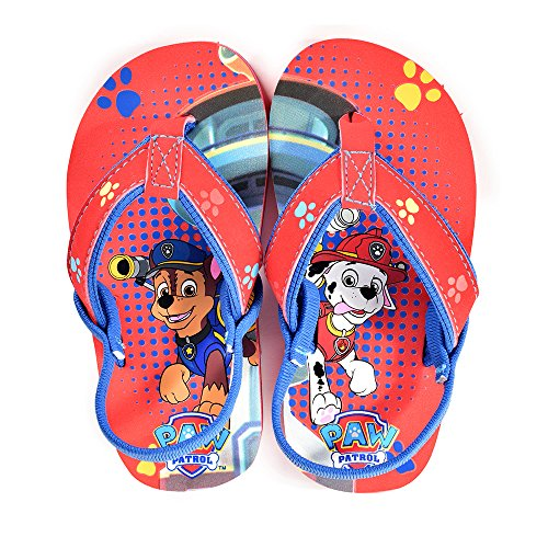 PAW PATROL MARSHALL /& CHASE Boys Flip Flops w// Optional Sunglasses Beach Sandals