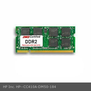 HP Inc. CC410A equivalent 256MB DMS Certified Memory 200 Pin  DDR2-533 PC2-4200 32x64 CL4 1.8V SODIMM - DMS