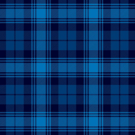 Acrylic Spandex Plaid Pattern (David Textiles Navy Plaid Anti-Pill Fleece 60
