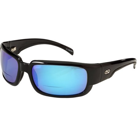 Onos Araya 123BG200 BLUE MIRROR Lens Polarized +2.00 ADD Reading (Add Mirror Coating To Sunglasses)