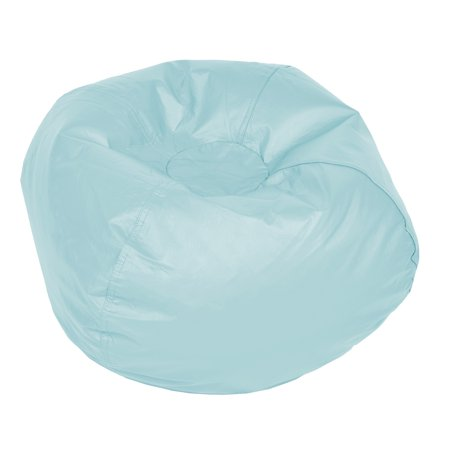 ACEssentials Medium Vinyl Bean Bag Chair, Multiple (Best Bean Bag Chair Review)