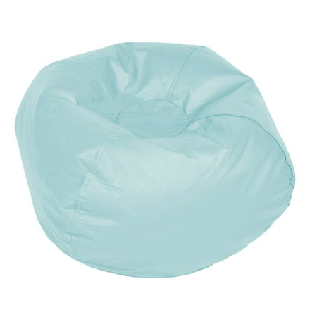 ACEssentials Medium Vinyl Bean Bag Chair, Multiple Colors