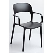 Gold Sparrow Jason Beige Stackable Arm Chair - Set of 2