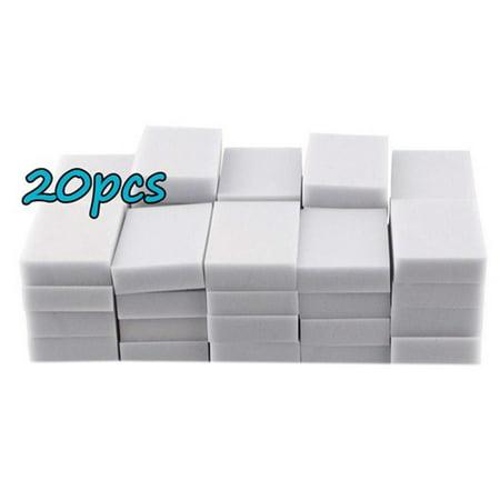 GeweYeeli 20pcs/100pcs Magic Sponge Cleaner Super Decontamination Eraser Melamine Kitchen Office Cleaning Tool