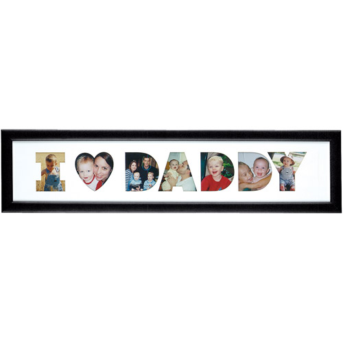 Personalized ''I Heart ...'' Family Collage Frames