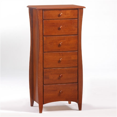 Night & Day Furniture Spices Bedroom Clove 6 Drawer Lingerie Chest