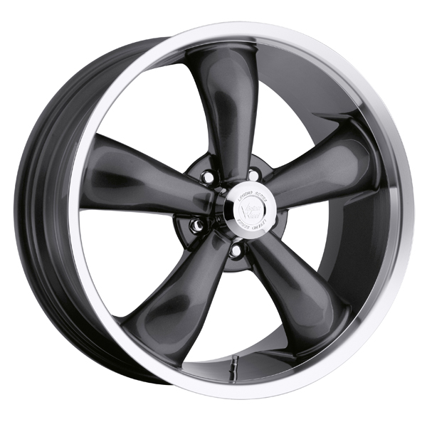 "VISION 142 Legend 5 17x7 5x4.75"" +0mm Gunmetal Wheel Rim"