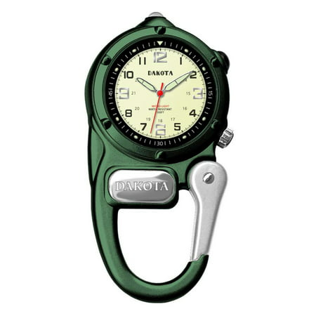 Green Mini Clip Microlight Watch ()