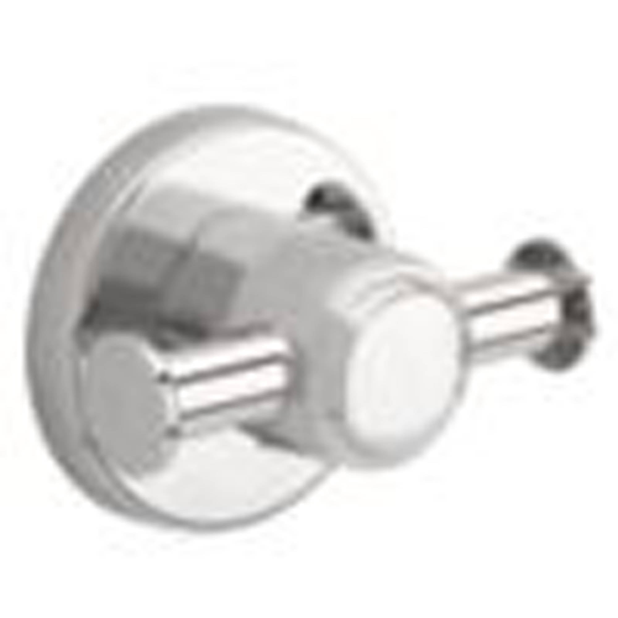 Franklin Brass Tempra Double Robe Hook, Polished Chrome by Generic