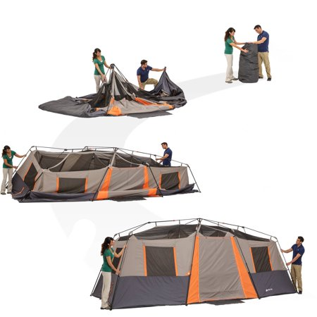 Ozark Trail Instant 20 X 10 Cabin Camping Tent Sleeps